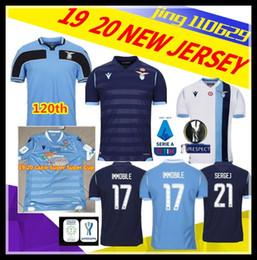 Uniform cUp online shopping - Latest ad th Lazio Super Super Cup football uniform IMMOBILE LUIS ALBERTO MARUS SERGEJIC JERSEY