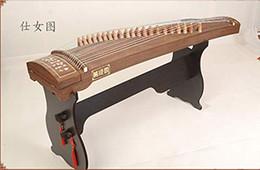 instrument chinois cithare guzheng 163cm 21 cordes en Solde