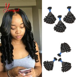 Funmi Hair Australia - 100% Human Virgin Hair Funmi Curly Girly Curly Weaving Hair Extensions Malaysian Weave Pieces 8-28 Inches Mink Hair Wholesale Cheap Price