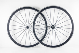 clincher alloy brake surface NZ - A pair 38mm clincher 23mm width alloy brake carbon wheelset 3k aluminum surface brake with R13 hub