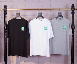 Wholesale create t shirts for sale – custom In early spring European designers created the Paris eco monogram T shirt with loose round collar and short sleeves for men and women