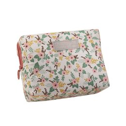 $enCountryForm.capitalKeyWord UK - Women Floral Flower Cosmetic Bag Portable Beauty Pouch Toiletry Zipper Bag Lady Makeup Make Up Wash Travel Organizer