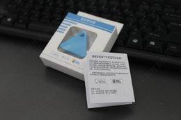 Mini GPS Tracker Bluetooth 4.0 GPS Alarma iTag Buscador de llaves Anti-perdida Selfie Shutter Con Retail Pakcage