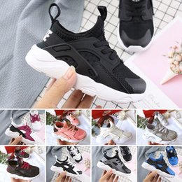 $enCountryForm.capitalKeyWord Australia - New Air Huarache 4 infant Running Shoes kids sports White Children Huaraches huraches Hurache Casual trainers Baby Running Sneakers