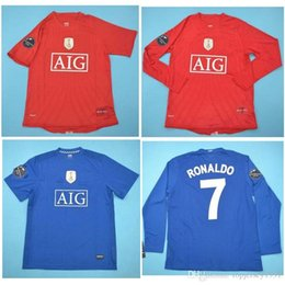 Rooney jeRsey online shopping - Top RONALDO Retro Jerseys Classic Vintage SCHOLES Soccer jersey ROONEY football shirt GIGGS maillot de foot