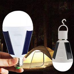 $enCountryForm.capitalKeyWord NZ - Panel Powered LED light Bulb Emergency Lamps lumen Hook Design for Camping hiking Outdoor Light JK0219A