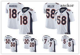 becbdbc6e Denver MEN WOMEN YOUTH 30 Phillip Lindsay 58 Von Miller 55 Chubb Limited  Road Jersey Football Broncos White Vapor Untouchable