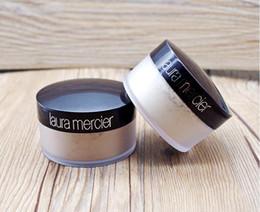 Venta al por mayor de Laura Mercier en polvo suelto Configuración Waterproof duración del maquillaje facial hidratante 2 colores en polvo suelto translúcido Maquiagem