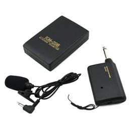 $enCountryForm.capitalKeyWord Australia - WR601 Wireless Microphone MIC Conference Speech FM Transmitter Receiver Collar Lapel Clip Microphone Kits Speakers