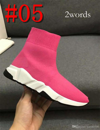 low cut trainer socks 2019 - Sock Boots Shoes Brand Speed Trainer Black Fashion Socks Boots Sneaker Trainer shoes 34-44 with 2 words or 10 words bran