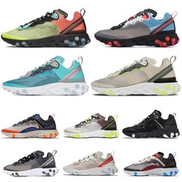 $enCountryForm.capitalKeyWord NZ - 2019 React Element 87 Undercover Men Running Shoes Blue Chill Sail Light Bone Dark Grey Black Womens Mens Trainers Sports shoes