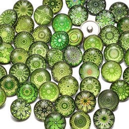18mm bezel Canada - Luxury Designer Jewelry Bracelet Snap Jewelry Mixed 100pcs lot 18mm Snap Jewelry Button 18mm Snaps Buttons 18mm Snap Button Noosa Button