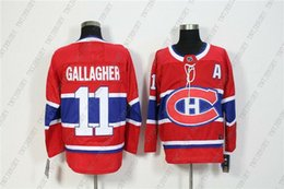 $enCountryForm.capitalKeyWord Australia - Cheap Custom Men's Montreal Canadiens 11 Brendan Gallagher Red Home Hockey Jersey Personality stitching custom any name number XS-5XL
