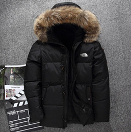 $enCountryForm.capitalKeyWord Australia - New The North Men's clothing Winter Jacket Parka Warm Goose Down Coats Soft shell fur collar Hats thick outdoor outerwear Face jackets