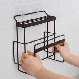 wall mounted utensil rack Australia - Cutting Board Organizer Holder Knife Block Wall Mounted Storage Hooks Kitchen Accessories Utensil Holder Knife Stand