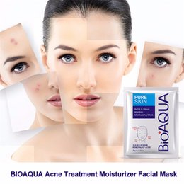 $enCountryForm.capitalKeyWord NZ - BIOAQUA Skin Care Masks Anti-Acne Mask Facial Effective Face Mask Moisture Nourishing Oil Control Mask Sheet For Man Woman