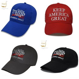 embroidered american flags UK - YxsTm New 2020 election hat campaign Trump American flag embroidered hat caps cap election custom beanies knitted