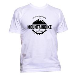Bike Print T Shirts Australia - Mountain Bike Adventure Unisex T-Shirt Mens  Womens Fashion d809cae50