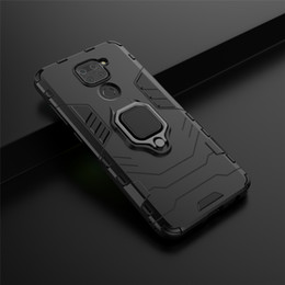 armor xiaomi redmi note case UK - Shockproof Armor Case for xiaomi redmi note 7 8 mi 9 9se f1 k20 k30 Stand Holder Car Ring Silicone Phone Back Cover