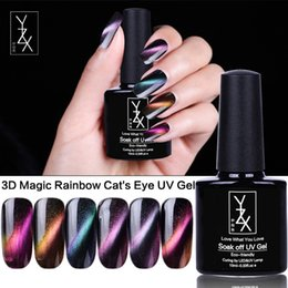 Cats Eye Gel Varnish Soak Off 3d Gel Lacquer Magic Stick Gradient Uv Nail Polish 12 Colors Available 10ml Factory Direct Selling Price Beauty & Health Nails Art & Tools
