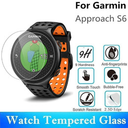 Smart Watch Screen Protectors Australia - 20PCS Tempered Glass For Garmin Approach S6 Round Smart Watch Screen Protector Diameter 42mm Protective Film