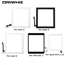 StickerS for ipad air online shopping - Biggest Discount For iPad Air mini Touch Screen Digitizer Assembly with Home Button and Adhesive Sticker