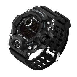 Digital Diving Watches For Men Australia - 2018 SANDA Fashion Sports Digital Watch Men Diving Sport LED Clock for Men Waterproof Geneva Watches Relojes hombre 326