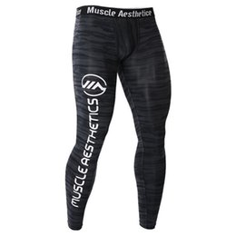 $enCountryForm.capitalKeyWord Australia - Compression Tight Pants Mens Gyms Fitness Bodybuilding Leggings Male Jogger Workout Skinny Trousers Crossfit Sportswear Bottoms
