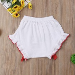 diaper bloomers girls Canada - Christmas Baby Boy Girl Bottoms Bloomers Shorts Diaper Cover Panties PP Pant