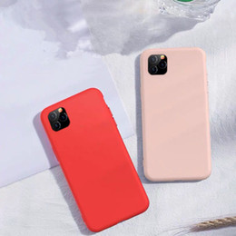 Discount redmi phone - TPU Liquid Silicone Gel Rubber Cell Phone Cases For Iphone 11 Pro Samsung Galaxy A10 Note 10 Redmi K30 8A 8 Full Case