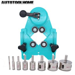 $enCountryForm.capitalKeyWord Australia - hole 9PCS 4-83mm Drill Guide Vacuum Base Sucker with 5-50mm Diamond Coated Drill Bit Fit Tile Glass Hole Saw Openings Locator
