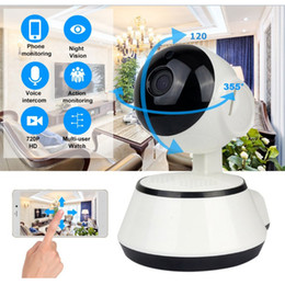 wireless cameras Australia - Baby Monitor Portable WiFi IP Camera 720P HD Wireless Smart Baby Camera Audio Video Record Surveillance Home Security