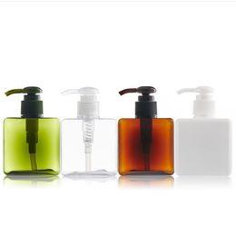 $enCountryForm.capitalKeyWord Australia - 250ml 8.5oz Plastic Foaming Pump Soap Dispenser Bottle Square Shape Refillable Portable Empty Foaming Hand Soap Suds Dispenser Bottle