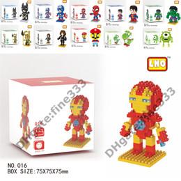 spiderman building blocks 2019 - Iron Man Blocks The Avengers Diamond Iron Man Hulk Spiderman Superman Mario Building blocks Figures Building Blocks Kid