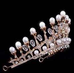 $enCountryForm.capitalKeyWord Australia - Bride's Headdress Baroque Crown Marriage Water Diamond Movie House Wedding Dress Modeling Jewelry
