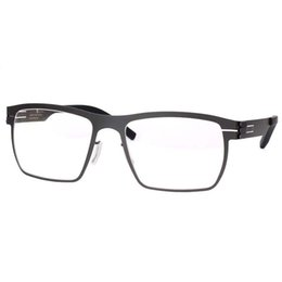04811ef265 Spectacles Unique No screw Design Brand Frame for Male Optical Eyeglasses  Spectacles Prescription Eyewear Flexible Temple Legs
