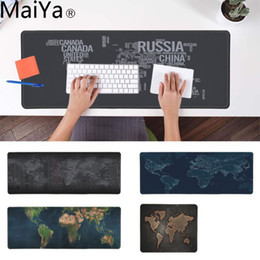 $enCountryForm.capitalKeyWord Australia - MaiYa New Printed Old Keyboard Gaming MousePads Rubber Mouse Durable Desktop Mousepad