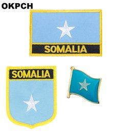 $enCountryForm.capitalKeyWord NZ - Somalia flag patch badge 3pcs a Set Patches for Clothing DIY Decoration PT0170-3