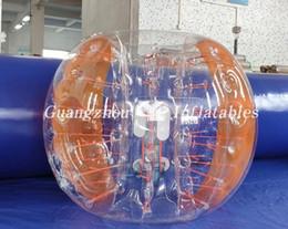 New Safty Environmental Protection 0.8mm PVC 1.5m Wearable bubble Air Bumper Ball Body Zorb Ball Bubble Football Bubble Soccer Zorb Ball on Sale