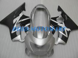 $enCountryForm.capitalKeyWord Australia - Black silver Customized Fairing set for HONDA CBR600F4 99 00 CBR600 F4 1999 2000 CBR 600 F4 600F4 CBR600 yellow black Fairings body kit HP36