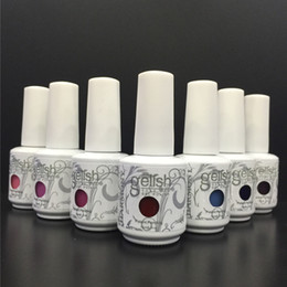 Free shipping!Top Quality 342 colors Harmony Gelish Soak Off Nail Gel Polish Nail Art Gel Lacquer Led uv Base Coat Foundation & Top coat