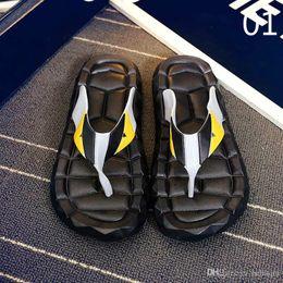 Eva Slippers Flip Flops Australia - free shipping Flip Flops Men Sandals Shoes For Casual Walking Beach Slides EVA Massage Slippers Designer Flats Male Summer Mens Shoes 3A 20