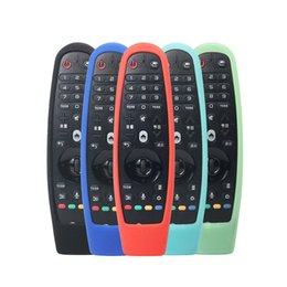 $enCountryForm.capitalKeyWord Australia - Smart OLED TV Protective Silicone Covers for LG AN-MR600 AN-MR650 AN-MR18BA Magic Remote Control Cases