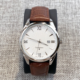 new nice dresses styles UK - 2020 New nice designer Quartz Watch Man luxury Watches Gentlemen Dress fashion Watches Leather Simple Wristwatches Casual style High quality