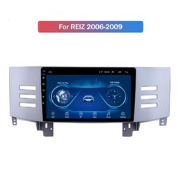radio for toyota NZ - 10.1 Inch Android 10 Car Auto Stereo for Toyota REIZ 2006-2009 Radio GPS Multimedia Player Wifi Bluetooth