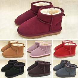 christmas gift shoes Australia - Kids Baby Shoes 2019 Winter Children Warm Cotton Boots Teenager Velvet Thicken Warm Snow Boots Kids Boys Girls Snow Boots Christmas Gifts