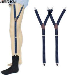 5177f72eb15 Shirt Stays UK - Mens Shirt Stays Garters Elastic Nylon Adjustable Shirt  Holders Crease-Resistance