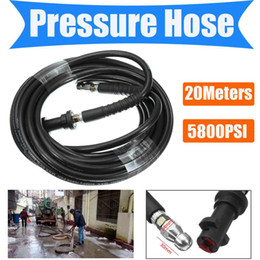 Repair Washers Australia - 5800PSI 20M High Pressure Hose Washer Cleaning Hose For Karcher K2 K3 K4 Car Washing Water Spray-gun