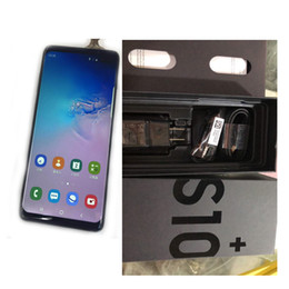 chinese smartphones india Australia - 2019 New goophone S10 S10+ smartphones Android 8.0 octa core 4G RAM 128G Shown 4G LTE 6.5 inch HD unlocked dual sim phones Free DHL
