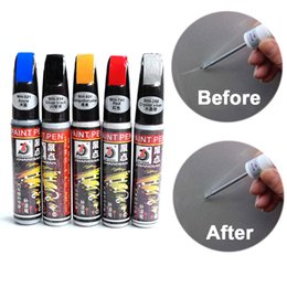 Discount window paintings - Car Touch Up Pen Car Body Window Windshield Maintenance Paint Care Scratch Remover Auto Painting Pen Accessries